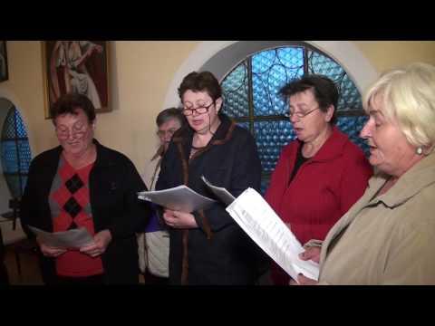 Crkveni zbor Vaška – Proba novih marijanskih pjesama