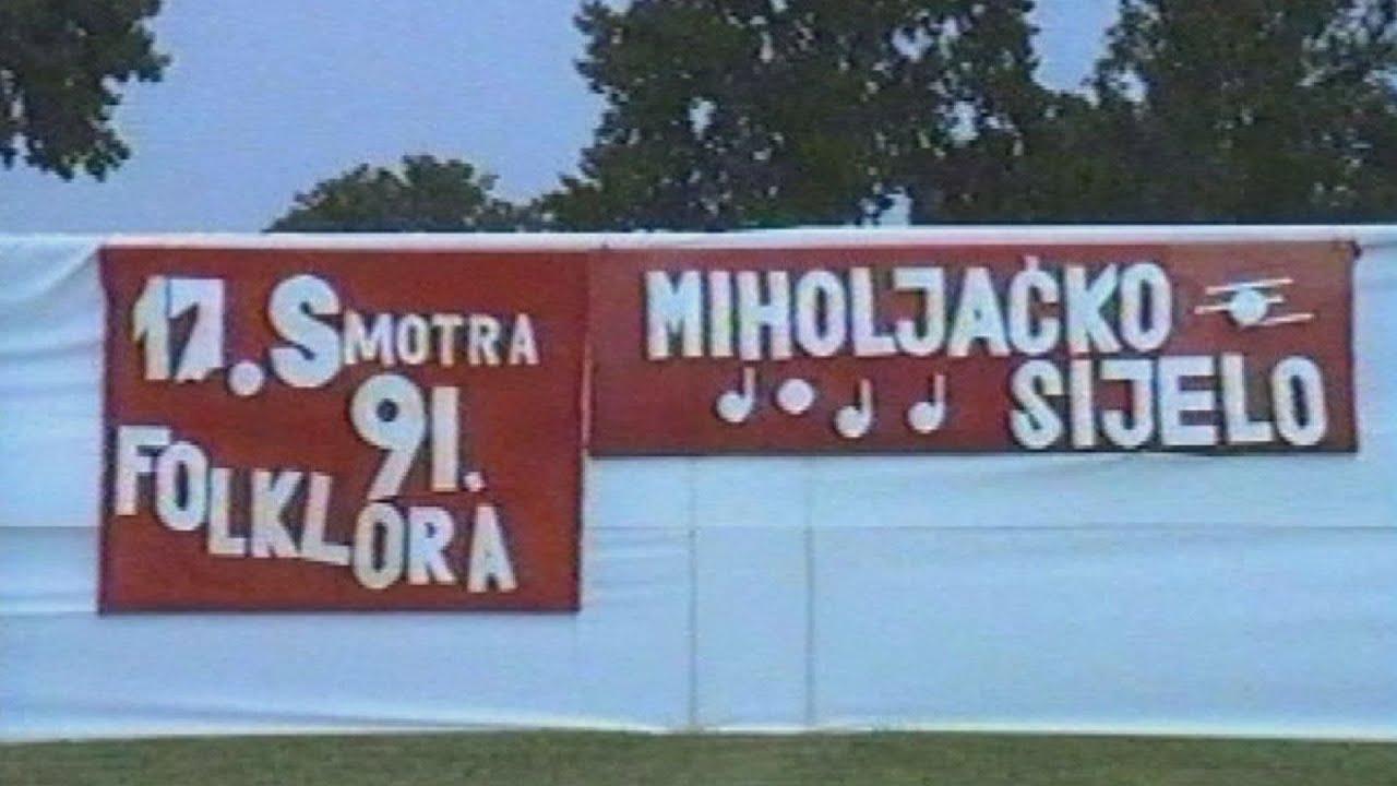Miholjačko sijelo 1991. video vremeplov
